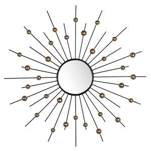 Mackenzie Round Silver Wall Mirror