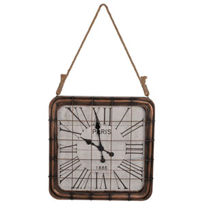 Hayden Bronze Wall Clock