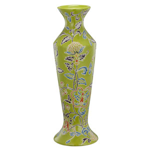 kathy ireland designs Multicolor 16-Inch Ceramic Candlestick