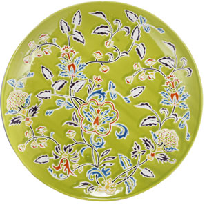 kathy ireland designs Multicolor Decorative Plate