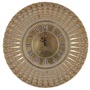 Gold Aubrey Wall Clock