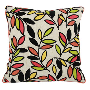 Multicolor 22-Inch Pillow