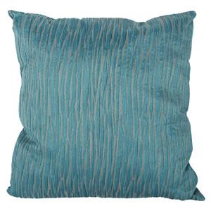 Blue 22-Inch Decorative Pillow