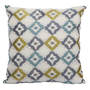 Multicolor 20-Inch Jacquard Woven Pillow