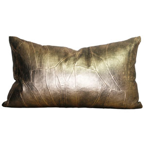 Antique Gold 12 x 20 In. Throw Pillow