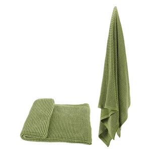 Florence de Dampierre by AB Home Green Cotton Throw