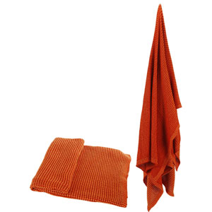 Florence de Dampierre by AB Home Orange Cotton Throw