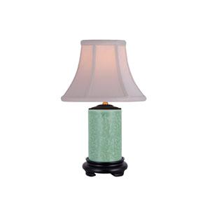 Porcelain Ware One-Light Celadon Small Lamp