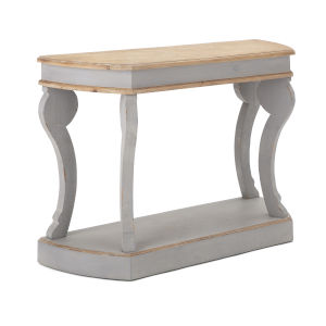 Westlin Gray and Beige Console Table