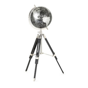 Pga Tour Black Globe with Tripod