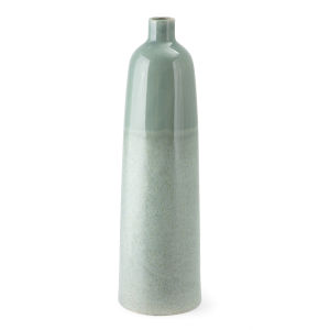 Amaryllis Green Large Ceramic Vase