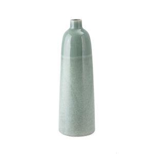 Amaryllis Green Small Ceramic Vase