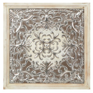 Padmini Silver Metal Wall Decor