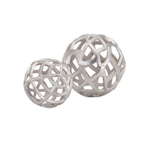 Outer Banks Spheres , Set of 2