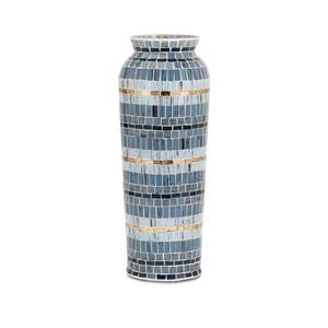Cowboy Large Mosaic Vase