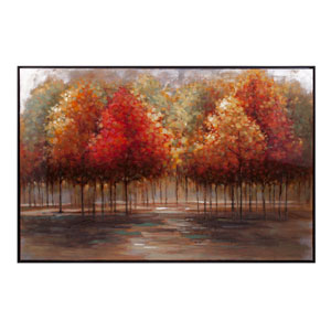 Persimmon Oil Painting with Frame
