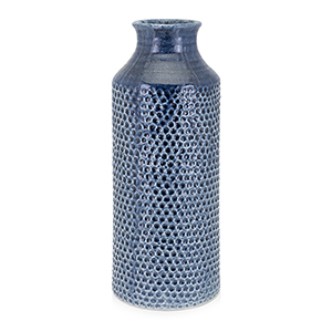Skye Large Vase in Blue