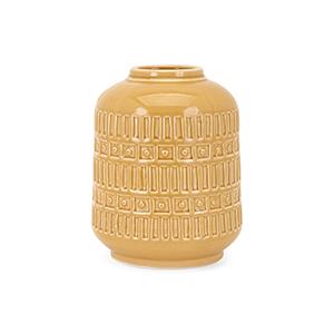 Eliza Small Vase in Yellow
