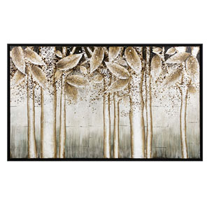 Alder Silver Wall Decor with Frame