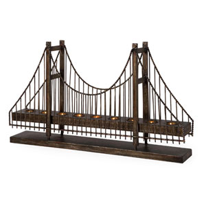 Suspension Bridge Candleholder