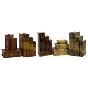 Convenience Book Boxes, Set of Fifteen