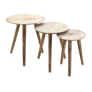 Cashel Round Tables, Set of 3