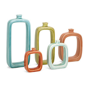 Warlow Vases, Set of 5