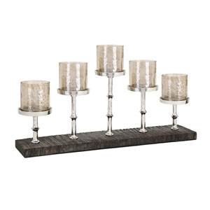 Pberon Five-Light Candleholder
