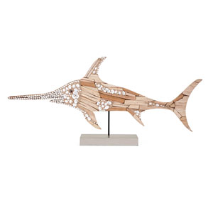 Hasani Mosaic Swordfish Statuary