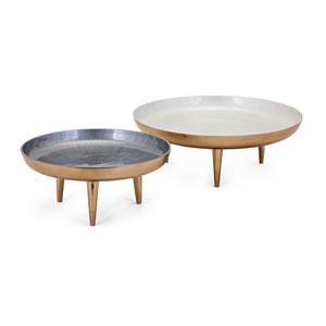 Pryce Decorative Trays, Set of 2
