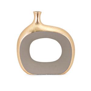 Maddy Small Metallic Vase