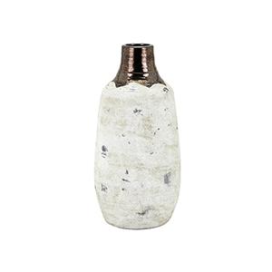 Morgan White Small Vase