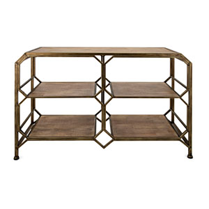 Tobias Console Shelf