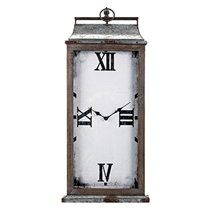 Nolan Wall Clock in Gray