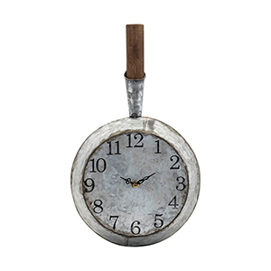 Frye Wall Clock in Gray