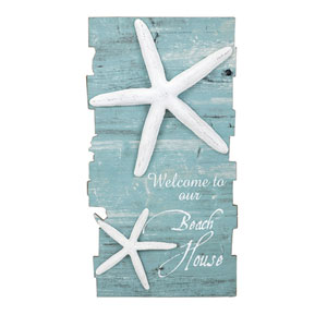 Beach House Starfish Wall Decor
