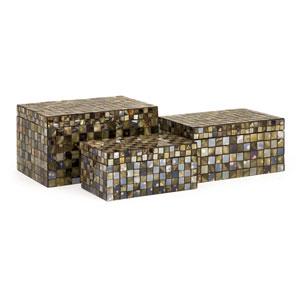 Noida Mosaic Boxes - Set of Three