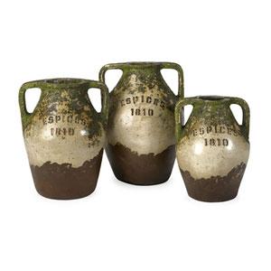 Guerrero Terracotta Jars, Set of 3