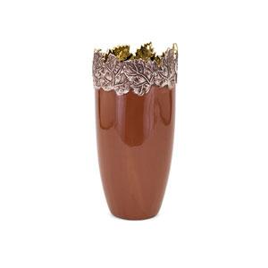 Concepts Eden Small Embossed Leaf Vase