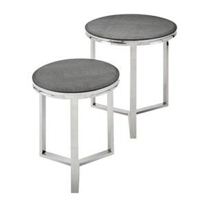 Meeda Stainless Steel Tables, Set of 2