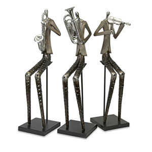 Sinatra Jazz Band Figures, Set of 3