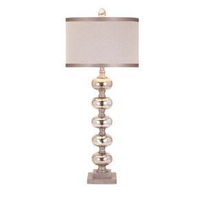 Ginger Mercury One-Light Glass Lamp