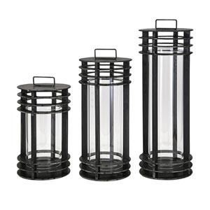 Electra Metal Lanterns, Set of 3