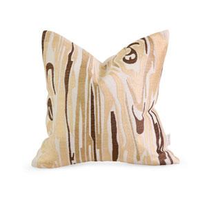 IK Idrissa Embroidered Pillow w/ Down Fill
