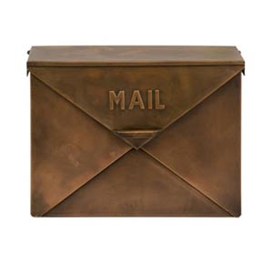 Tauba Copper Mail Box