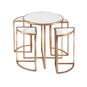 Limba Mirror Accent Tables  Set of 5
