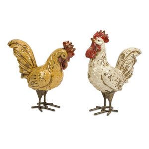 Parson Roosters - Set of Two