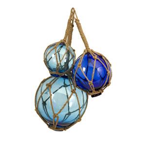 Buoyant Glass Floats - Set of Three