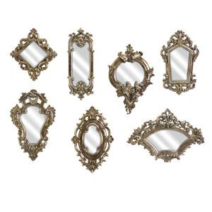 Loletta Victorian Inspired Mirrors - Set of Seven