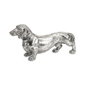 Oscar Silver Dog Statue